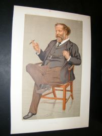 Vanity Fair Print 1893 Jospeh William Comyns Carr